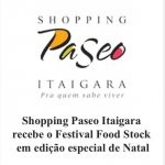 Festival Food Stock aporta no Shopping Paseo