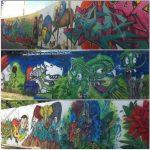 Grafites gigantes pela cidade… Êba!