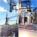 Pensar Salvador… Emaranhado de fios aparentes