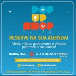 Pop Up Shop neste final de semana no Barra Hall