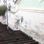 O que diz Salvador e Pensar Salvador na Escadaria do Passo