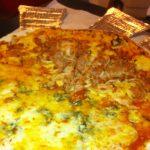 Jardim da Pizza, opção para quem gosta de comer pizza com as mãos