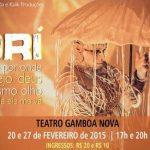 Diálogo entre a ancestralidade africana e a contemporaneidade é destaque no Teatro Gamboa Nova