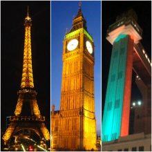 Paris, Londres e Salvador