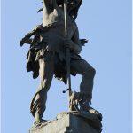 Todo dia é dia de índio no Monumento Dois de Julho no Campo Grande