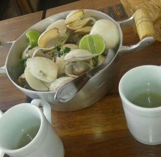 Onde comer frutos do mar ou Lambretas em Salvador