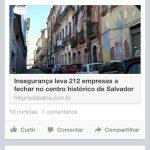 Pensar Salvador: insegurança no Centro Histórico