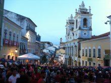 Pelourinho hoje na Festa de Santa Bárbara. Viva a Bahia!