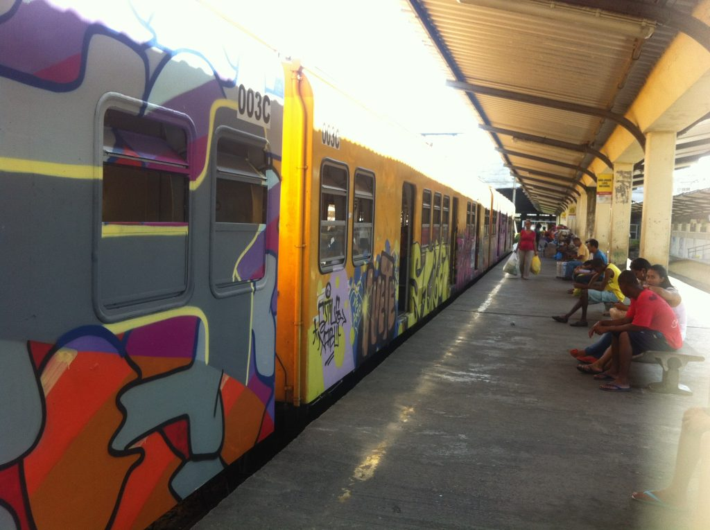 Trem Calçada x Paripe