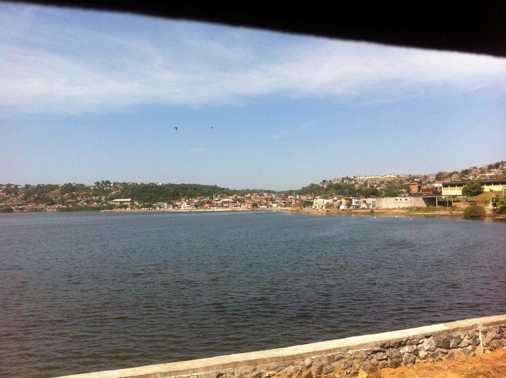 Ponte São João - Baía de Todos os Santos