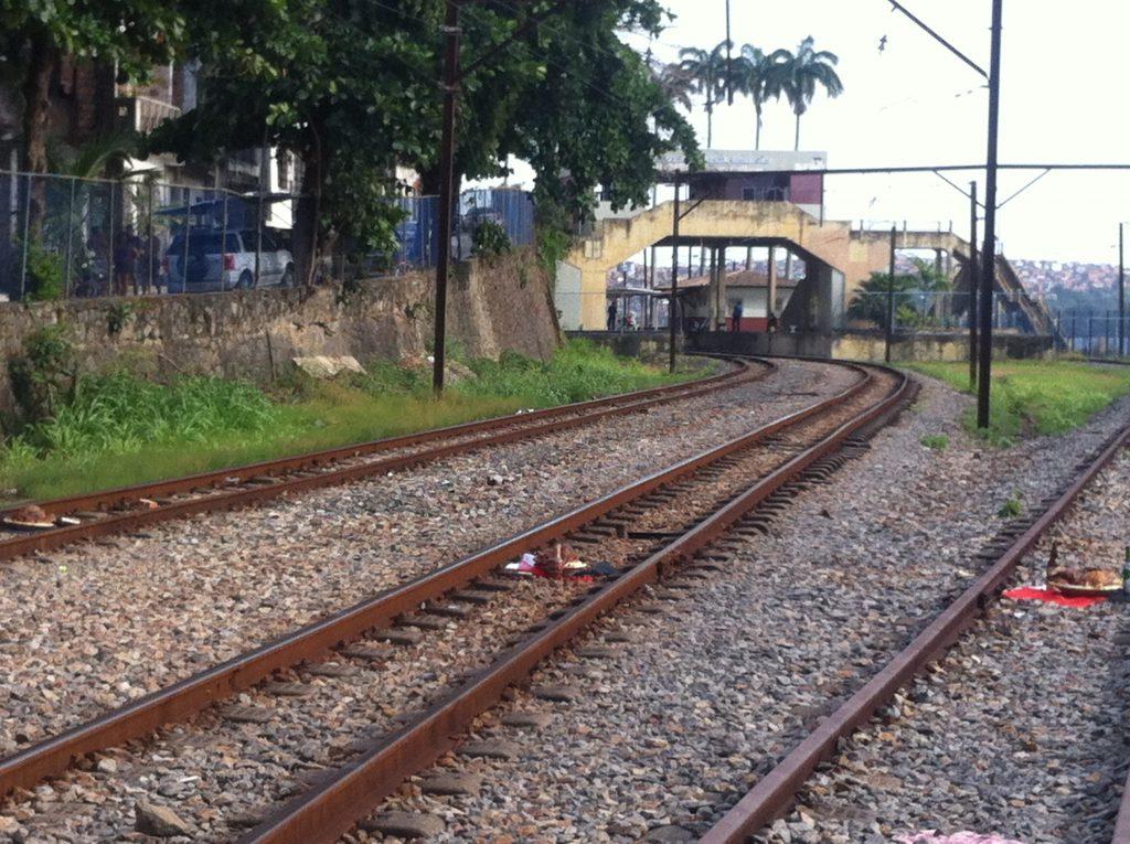 Linha férrea - Salvador