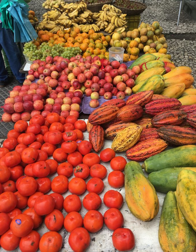 Barracas de frutas - Salvador