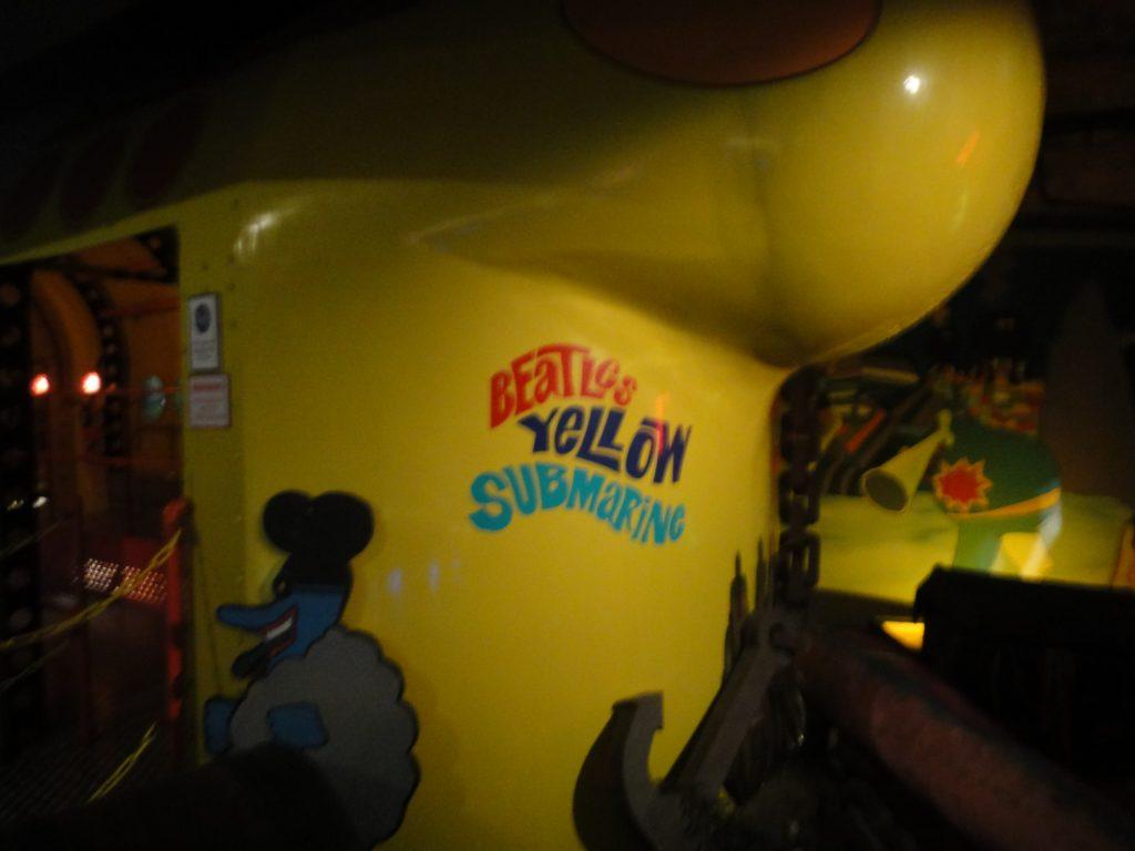 O psicodélico Submarino Amarelo