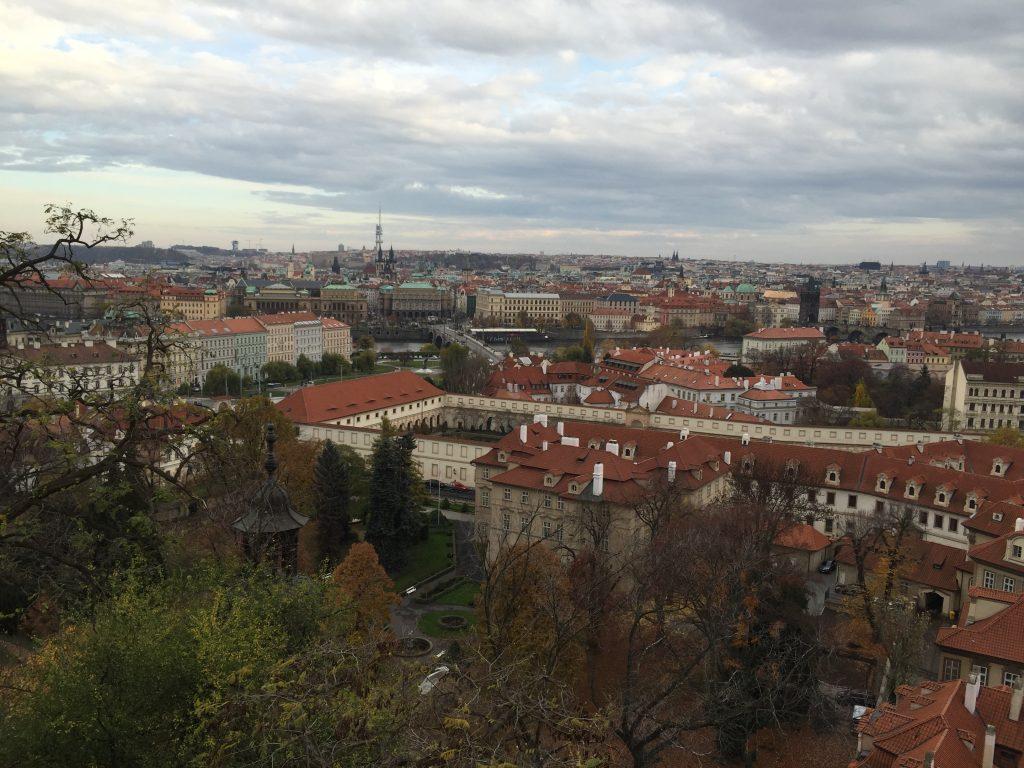Malá Strana vista do Castelo de Praga