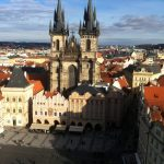 Praga: Um pouco da Igreja de Nossa Senhora de Týn