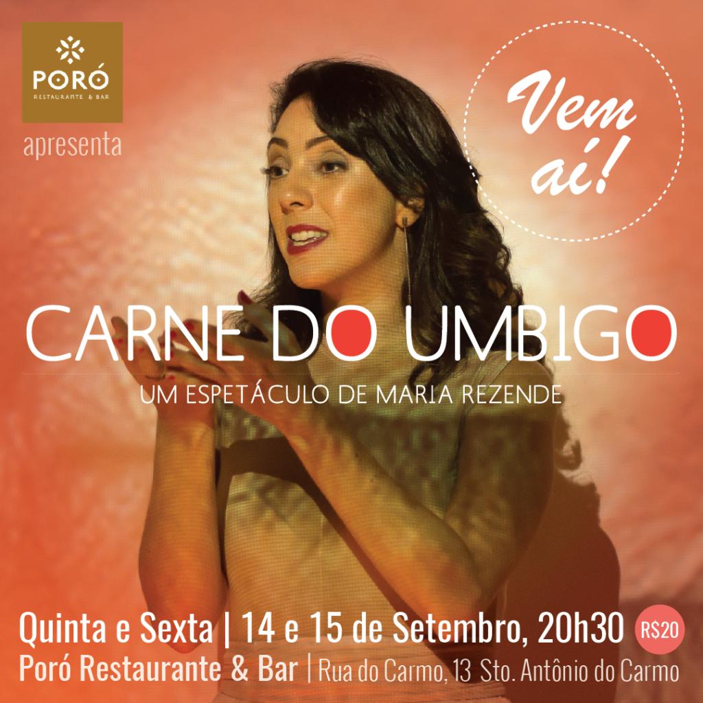 Maria Rezende - Poró Restaurante e Bar