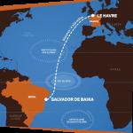 Salvador será o porto de maior regata transatlântica que liga a Europa à América