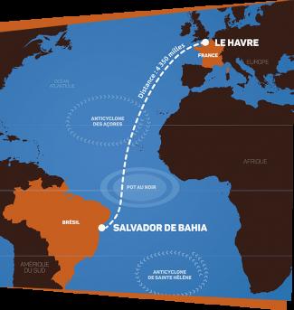 Salvador é destino da maior regata transatlântica que liga a Europa à América