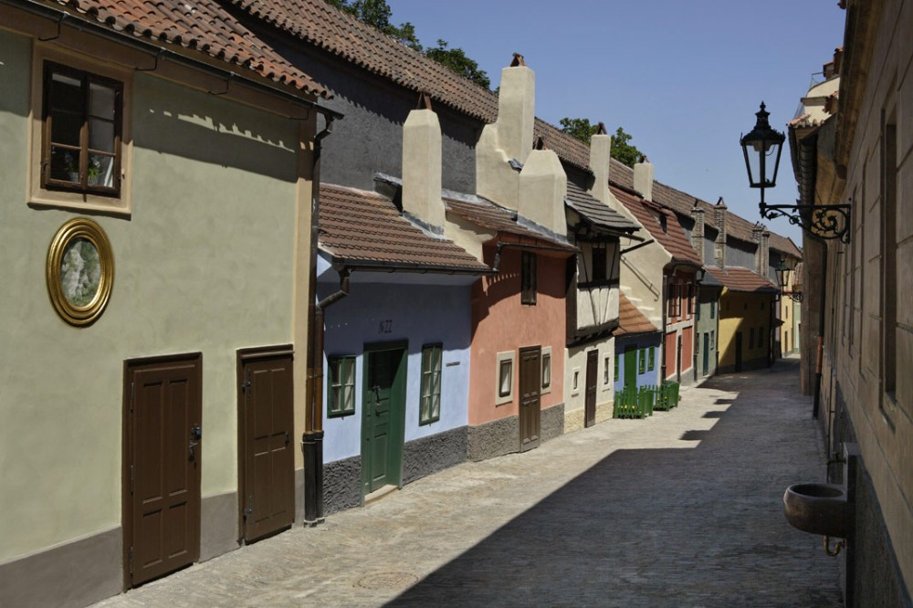 Golden Lane - Castelo de Praga