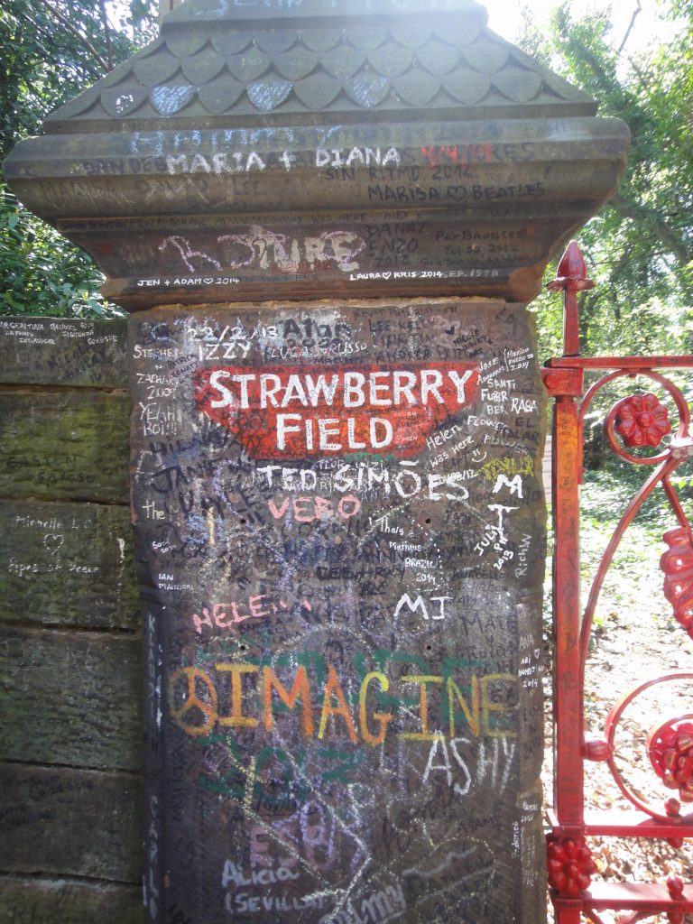 Magical Mystery Tour - Liverpool - Strawberry Field