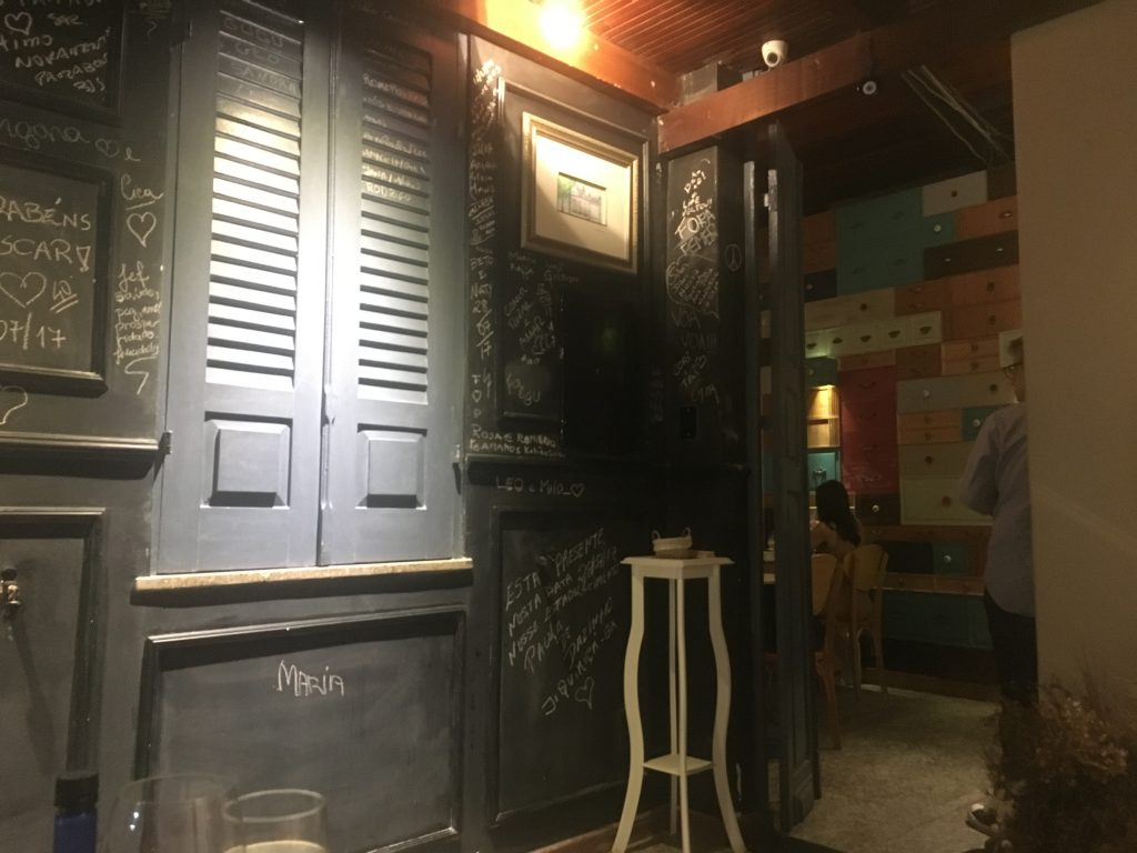 Sala de espera do Larriquerri