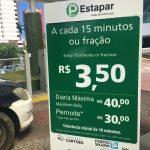 Os preços abusivos praticados nos estacionamentos privados de Salvador