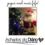 Papai Noel feito por artesãos locais | Achados do Diário