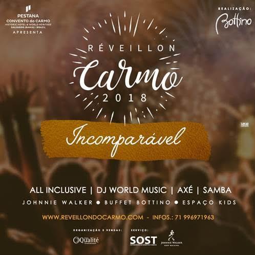 Réveillon em Salvador - Hotel Pestana Carmo