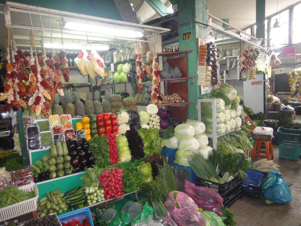 Mercado de Surquilo - O que fazer em Lima