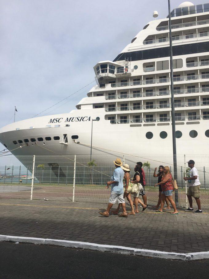 Navios em Salvador - Porto de Salvador, Comércio