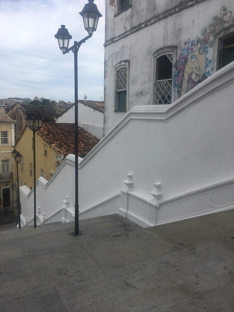 Escadaria do Passo - O Pagador de Promessas