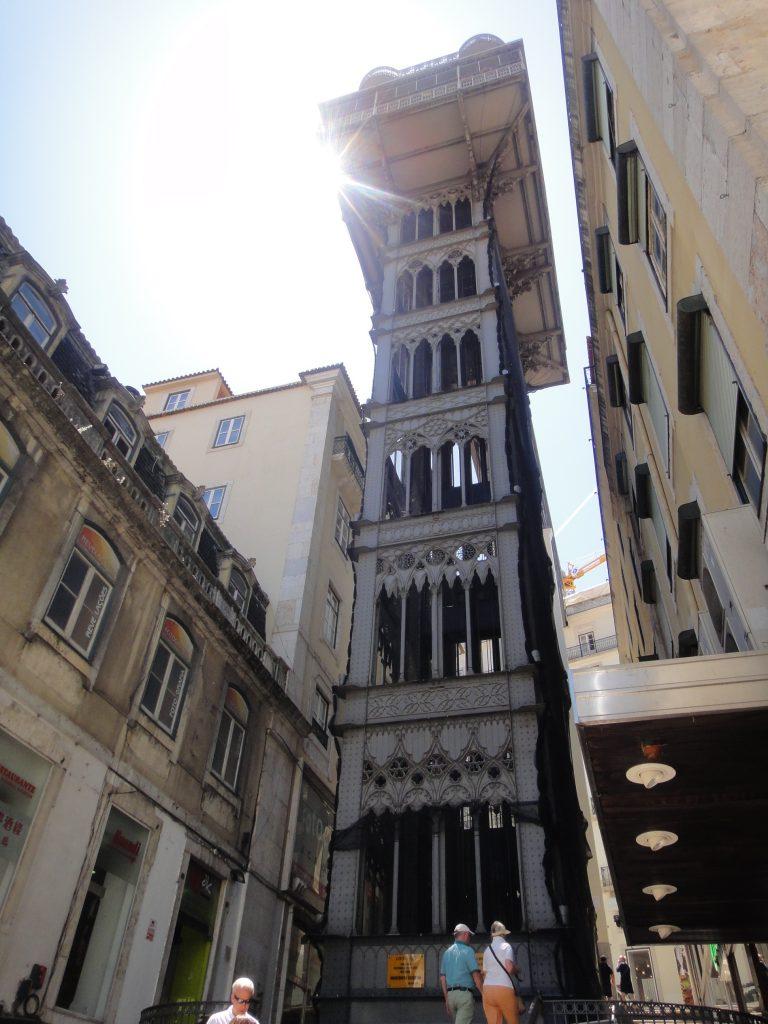 Centro antigo de Lisboa - Elevador de Santa Justa, Lisboa