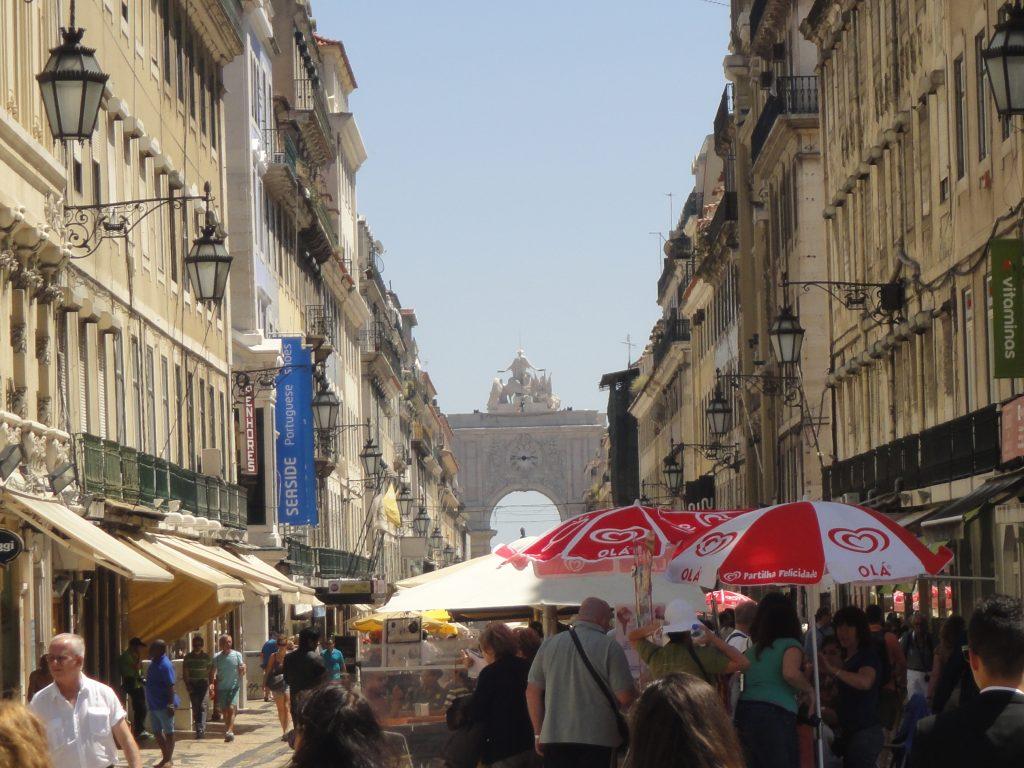 Centro antigo de Lisboa - Rua Augusta, O que fazer em Lisboa