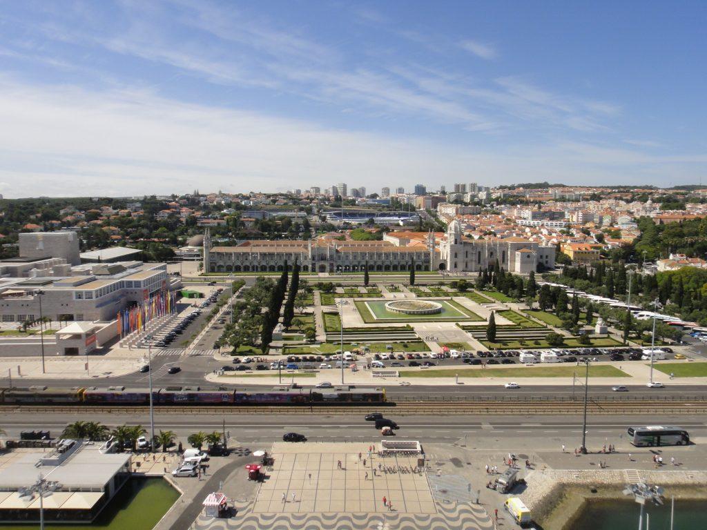 Bairro de Belém - O que fazer em Lisboa, Praça Jardim do Império