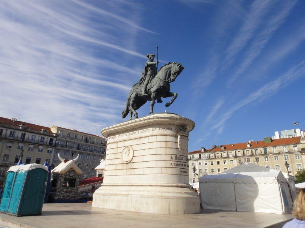 Centro antigo de Lisboa - Praça da Figueira, Lisboa, Portugal