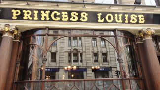The Princess Louise: Dica de pub em Londres