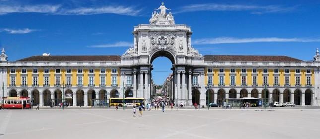 Centro antigo de Lisboa - Praça do Comércio, Lisboa