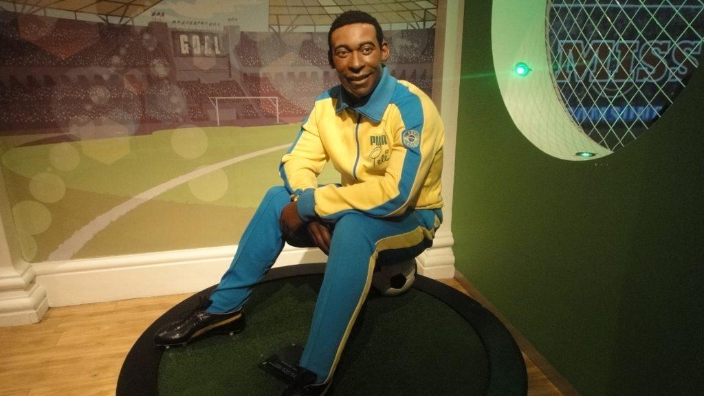 Olha nosso Pelé aí eternizado!