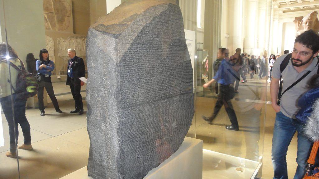 Pedra de Roseta - The British Museum, Dicas de Londres