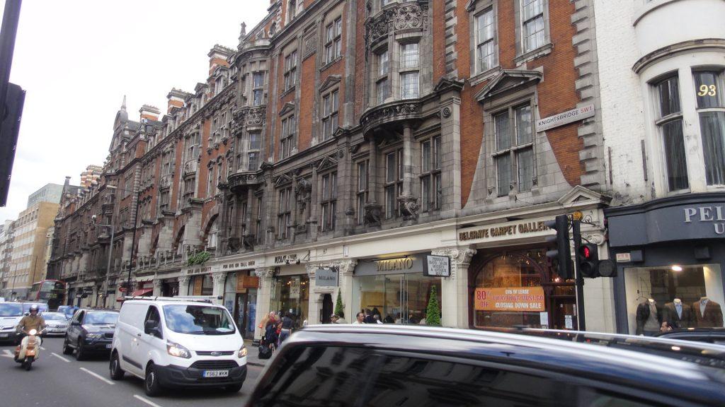 Ruas de Londres - Knightsbridge