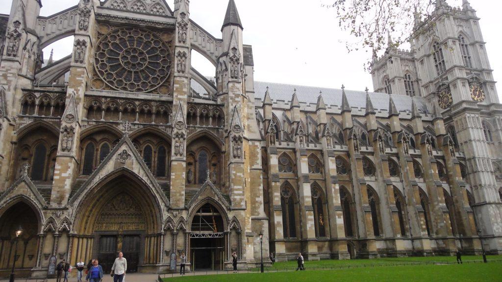 Fachada lateral da Abadia de Westminster