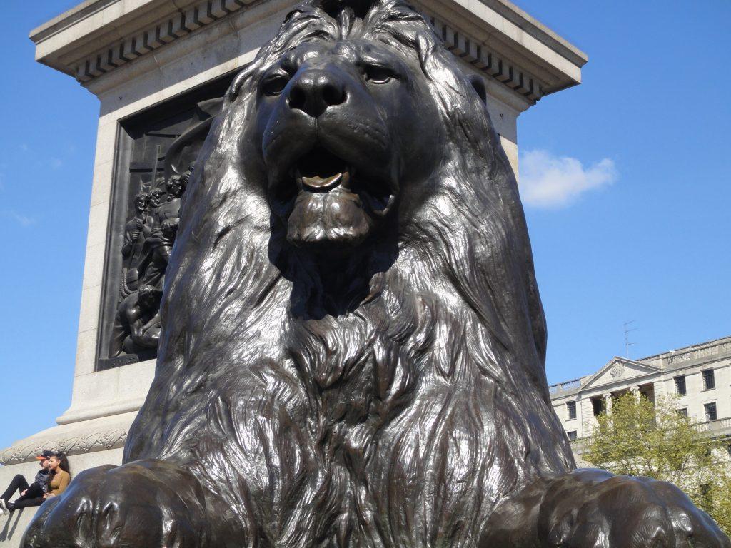 Ruas de Londres - Trafalgar Square