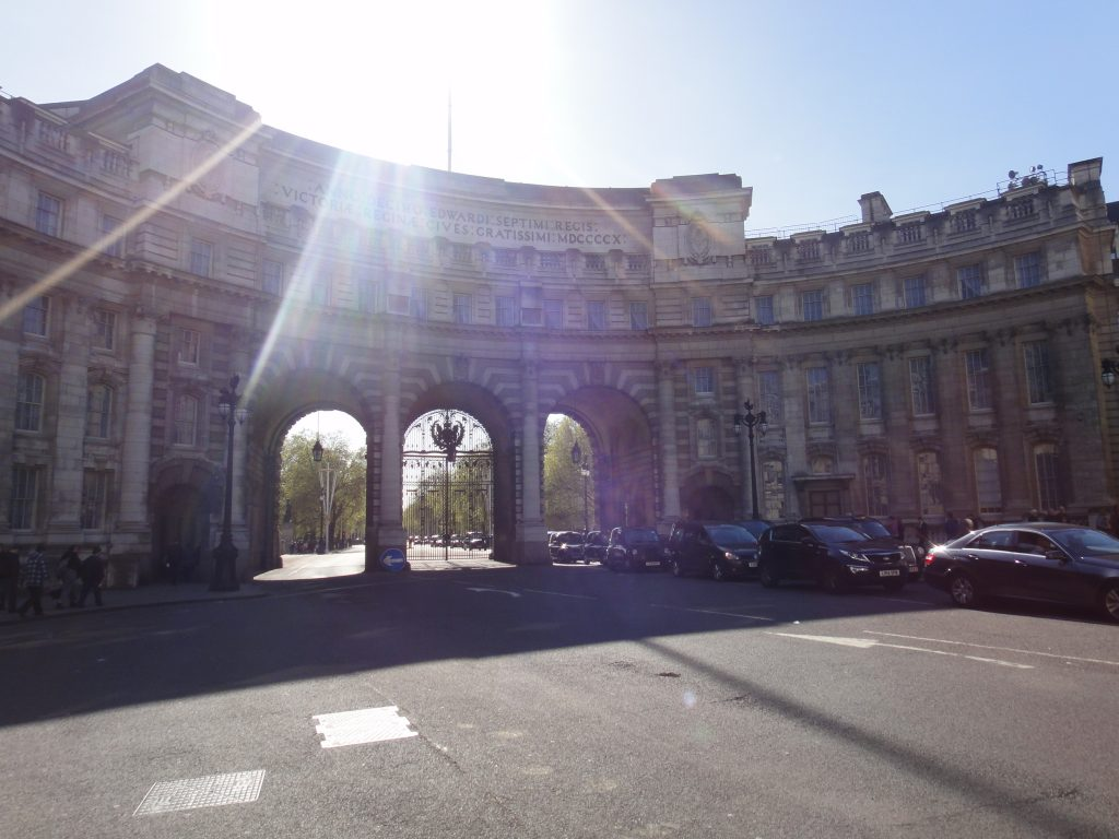 Arredores do Palácio de Buckingham - Admiralty Arch