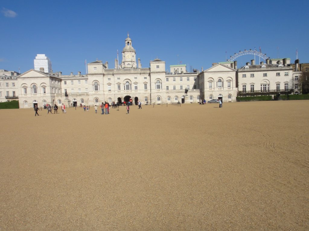 Arredores do Palácio de Buckingham - Horse Guards Parade