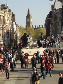 Trafalgar Square. O que fazer em Londres