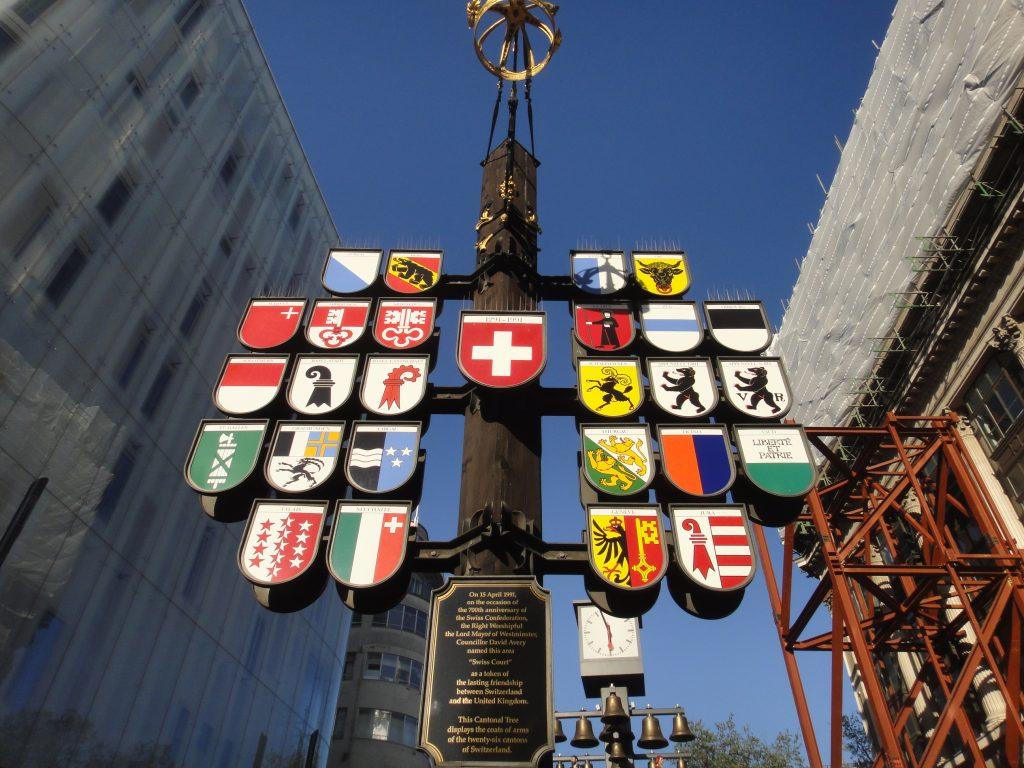 Ruas de Londres - Swiss Court