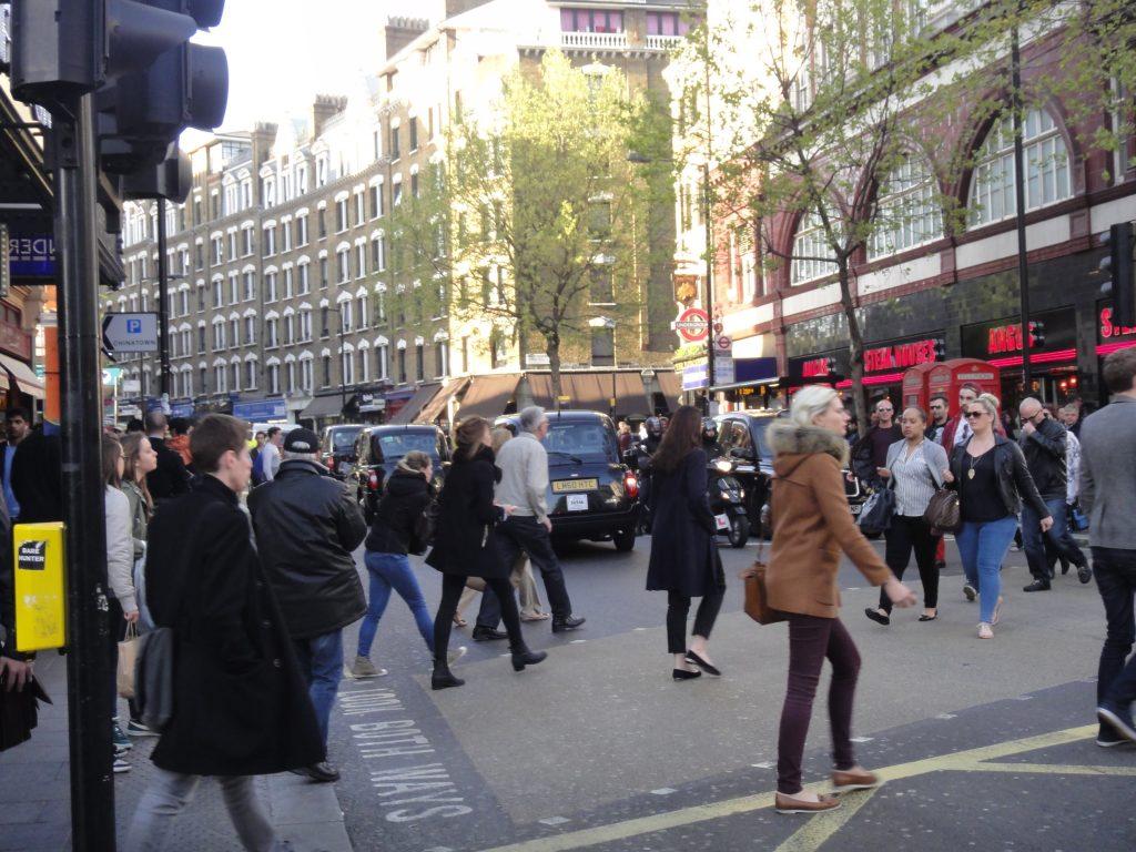 Ruas de Londres - Leiceister Square