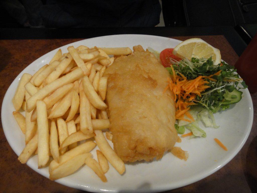Fish and chips. Símbolos de Londres