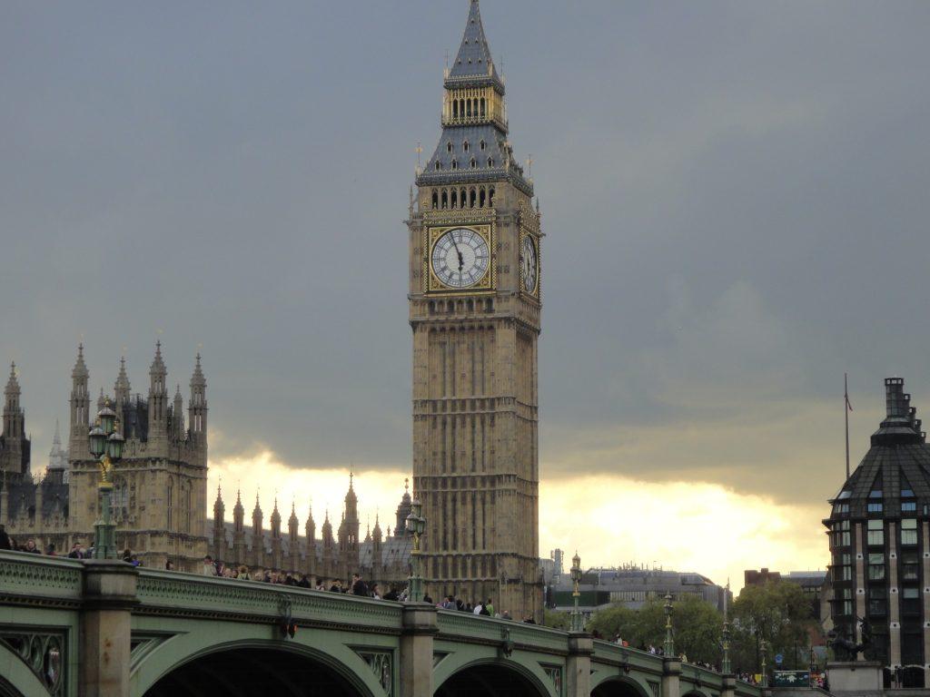 Westminster Bridge. O que fazer em Londres