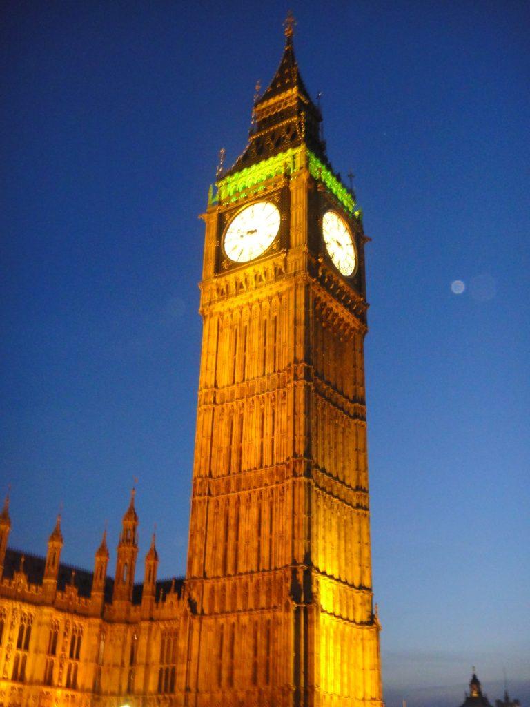 Londres à noite. O que fazer em Londres